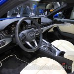 2016 Audi A4 dashboard at the 2015 Tokyo Motor Show