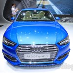2016 Audi A4 front at the 2015 Tokyo Motor Show