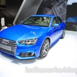 2016 Audi A4 front quarter at the 2015 Tokyo Motor Show