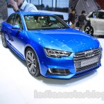 2016 Audi A4 front quarters at the 2015 Tokyo Motor Show