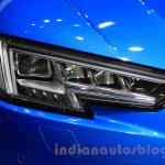 2016 Audi A4 headlight at the 2015 Tokyo Motor Show