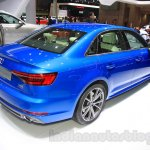 2016 Audi A4 rear quarter at the 2015 Tokyo Motor Show