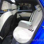 2016 Audi A4 rear seat at the 2015 Tokyo Motor Show