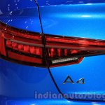 2016 Audi A4 taillight at the 2015 Tokyo Motor Show