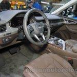 2016 Audi Q7 e-tron dashboard at the 2015 Tokyo Motor Show