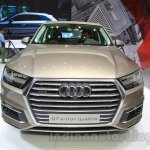 2016 Audi Q7 e-tron front at the 2015 Tokyo Motor Show