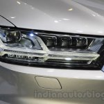 2016 Audi Q7 e-tron headlight at the 2015 Tokyo Motor Show