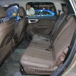 2016 Audi Q7 e-tron rear seats at the 2015 Tokyo Motor Show