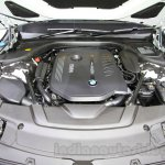 2016 BMW 7 Series engine bay at the 2015 Tokyo Motor Show