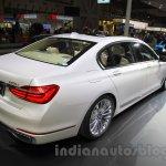 2016 BMW 7 Series rear three quarter at the 2015 Tokyo Motor Show
