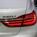 2016 BMW 7 Series taillamp at the 2015 Tokyo Motor Show