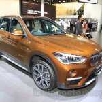 2016 BMW X1 front three quarter (1) at the 2015 Tokyo Motor Show