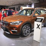 2016 BMW X1 front three quarter at the 2015 Tokyo Motor Show
