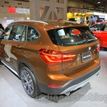 2016 BMW X1 rear three quarter at the 2015 Tokyo Motor Show