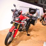 2016 Honda CRF1000L Africa Twin front quarter at the 2015 Tokyo Motor Show