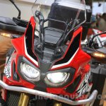 2016 Honda CRF1000L Africa Twin headlight at the 2015 Tokyo Motor Show