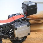 2016 Honda CRF1000L Africa Twin storage at the 2015 Tokyo Motor Show
