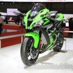 2016 Kawasaki Ninja ZX-10R front quarter at 2015 Tokyo Motor Show