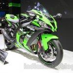 2016 Kawasaki Ninja ZX-10R front quarters at 2015 Tokyo Motor Show