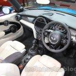 2016 Mini Convertible interior at the 2015 Tokyo Motor Show