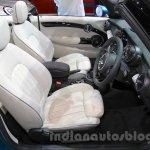 2016 Mini Convertible seat at the 2015 Tokyo Motor Show