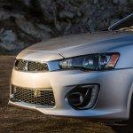 2016 Mitsubishi Lancer facelift front fascia press shots