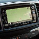 2016 Mitsubishi Lancer facelift navigation press shots