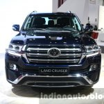 2016 Toyota Land Cruiser facelift front at 2015 Dubai Motor Show