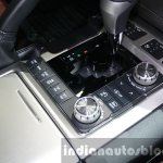 2016 Toyota Land Cruiser facelift gearbox at 2015 Dubai Motor Show