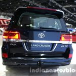 2016 Toyota Land Cruiser facelift rear at 2015 Dubai Motor Show