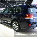 2016 Toyota Land Cruiser facelift rear quarter at 2015 Dubai Motor Show