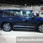 2016 Toyota Land Cruiser facelift side at 2015 Dubai Motor Show