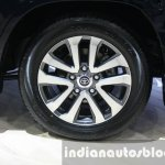 2016 Toyota Land Cruiser facelift wheel at 2015 Dubai Motor Show