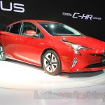 2016 Toyota Prius front quarter at the 2015 Tokyo Motor Show