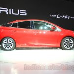 2016 Toyota Prius profile at the 2015 Tokyo Motor Show