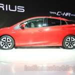 2016 Toyota Prius side at the 2015 Tokyo Motor Show