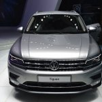 2016 VW Tiguan front at the 2015 Tokyo Motor Show