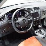 2016 VW Tiguan interior at the 2015 Tokyo Motor Show
