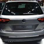 2016 VW Tiguan rear at the 2015 Tokyo Motor Show