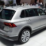 2016 VW Tiguan rear quarter at the 2015 Tokyo Motor Show