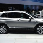 2016 VW Tiguan side at the 2015 Tokyo Motor Show