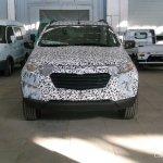 Chevrolet Niva front spied