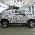 Chevrolet Niva side spied