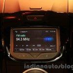 Chevrolet Trailblazer MyLink system India launch