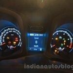 Chevrolet Trailblazer cluster India launch