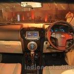 Chevrolet Trailblazer dashboard India launch