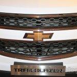 Chevrolet Trailblazer grille India launch