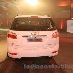 Chevrolet Trailblazer rear India launch