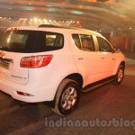 Chevrolet Trailblazer rear quarter India launch