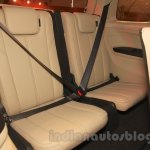 Chevrolet Trailblazer rear seats India launch